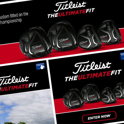 Titleist campaign with Performance54